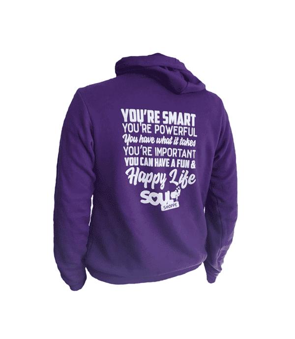 Sweatshirt - You're smart, you're powerful