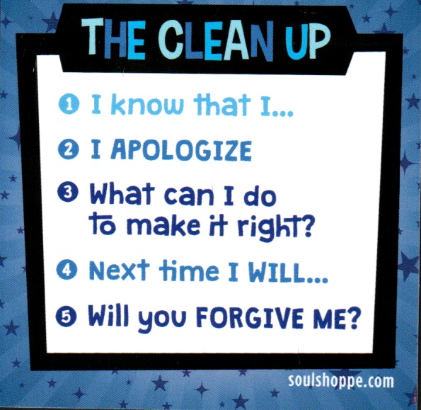 The clean up poster