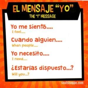 I message- Spanish