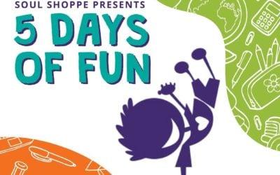 5 Days of Fun!⠀