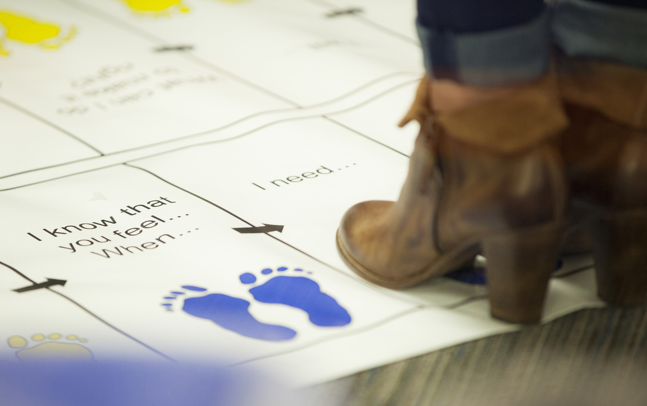 I know that you feel... when... footprint chart